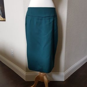 J.Crew Telegraph Pencil Skirt Super 120s {NWT}